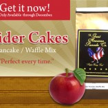 cider cakes   gourmet pancake and waffle mix